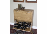 Deluxe Double Shoe Cabinet in Oak - 4D Concepts - 76155