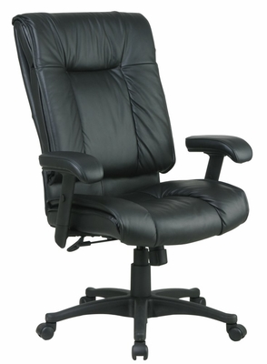 Deluxe High Back Executive Leather Chair - Office Star - EX9382