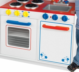 Deluxe Let's Cook Kitchen - KidKraft Furniture - 53139