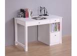 Deluxe Solid Wood Desk in White - DW48D30WH