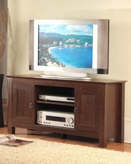 Deluxe TV Stand in Fruitwood - 4D Concepts - 48144