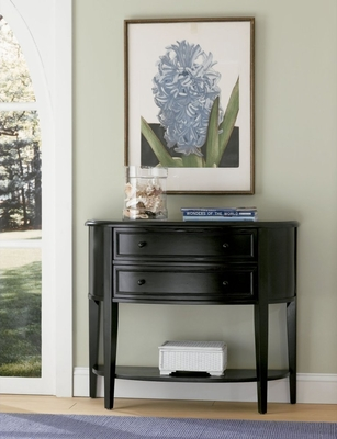 Demilune Console Table in