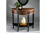 Demilune Console Table in Coffee - Butler Furniture - BT-0667104