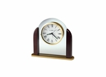 Derrick Traditional Quartz Table Clock - Howard Miller