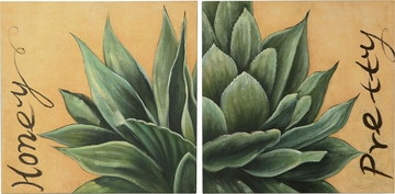 Desert Flower Oil Painting - 960588
