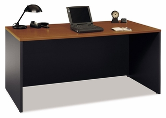 "Desk 66"" - Series C Auburn Maple Collection - Bush Office Furniture - WC48542"