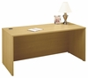 "Desk 66"" - Series C Light Oak Collection - Bush Office Furniture - WC60342"