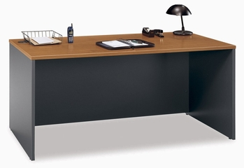 "Desk 66"" - Series C Natural Cherry Collection - Bush Office Furniture - WC72442"