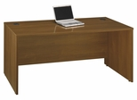 "Desk 66"" - Series C Warm Oak Collection - Bush Office Furniture - WC67542"