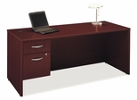 "Desk 72"" and Pedestal Set - Series C Mahogany Collection - Bush Office Furniture - WC36736-90"