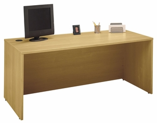 "Desk 72"" - Series C Light Oak Collection - Bush Office Furniture - WC60336"