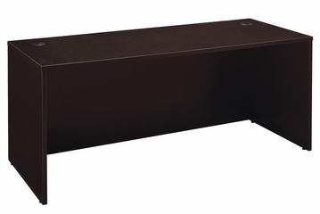 "Desk 72"" - Series C Mocha Cherry Collection - Bush Office Furniture - WC12936"
