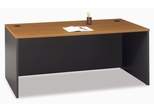 "Desk 72"" - Series C Natural Cherry Collection - Bush Office Furniture - WC72436"