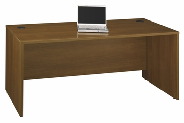 "Desk 72"" - Series C Warm Oak Collection - Bush Office Furniture - WC67536"