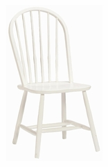 Desk Chair in White - Links - Alaterre - AB4001500