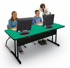 "Desk Height Computer Table 24"" x 60"" - Correll Office Furniture - WS2460"