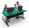 "Desk Height Computer Table 30"" x 48"" - Correll Office Furniture - WS3048"