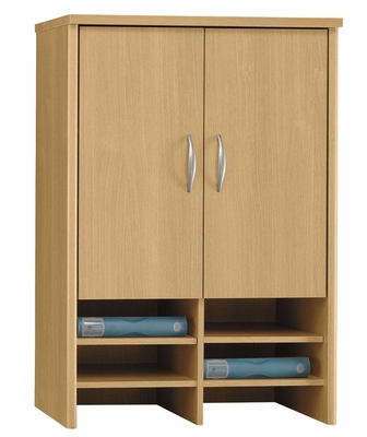 Desk Hutch 30 inch - Series C Light Oak Collection - Bush Office Furniture - WC60397