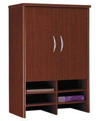 Desk Hutch 30 inch - Series C Mahogany Collection - Bush Office Furniture - WC36797