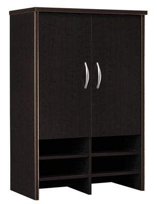 Desk Hutch 30 inch - Series C Mocha Cherry Collection - Bush Office Furniture - WC12997