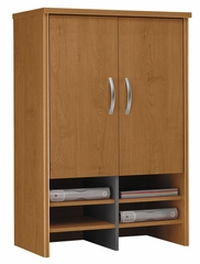 Desk Hutch 30 inch - Series C Natural Cherry Collection - Bush Office Furniture - WC72497