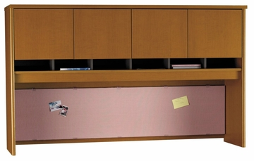 Desk Hutch 60 inch - Series C Auburn Maple Collection - Bush Office Furniture - WC48562