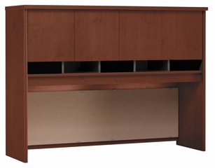 Desk Hutch 60 inch - Series C Hansen Cherry Collection - Bush Office Furniture - WC24462