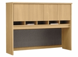 Desk Hutch 60 inch - Series C Light Oak Collection - Bush Office Furniture - WC60362