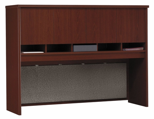 Desk Hutch 60 inch - Series C Mahogany Collection - Bush Office Furniture - WC36762