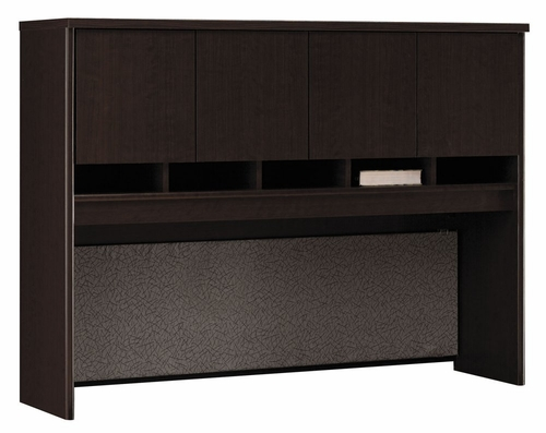 Desk Hutch 60 inch - Series C Mocha Cherry Collection - Bush Office Furniture - WC12962