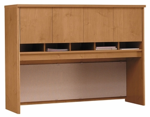 Desk Hutch 60 inch - Series C Natural Cherry Collection - Bush Office Furniture - WC72462