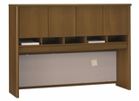 Desk Hutch 60 inch - Series C Warm Oak Collection - Bush Office Furniture - WC67562