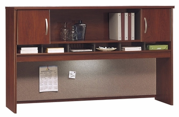 Desk Hutch 72 inch 2 Door - Series C Hansen Cherry Collection - Bush Office Furniture - WC24466