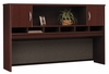Desk Hutch 72 inch 2 Door - Series C Mahogany Collection - Bush Office Furniture - WC36766
