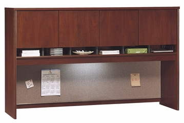 Desk Hutch 72 inch 4 Door - Series C Hansen Cherry Collection - Bush Office Furniture - WC24477