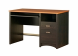 Desk in Spice Wood/Ebony - South Shore Furniture - 7378070