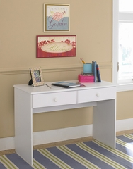 Desk in White - My Space, My Place - New Visions by Lane - 866-480