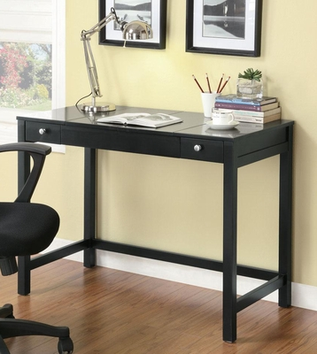 Desk with Flip Top in Cappuccino - 800915