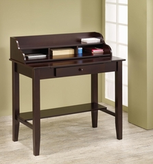 Desk with Pull-Out Surface and Tiered Storage - 800392