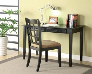 Desk with Two Drawers & Desk Chair - 800779