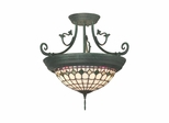 Diamond Edge Tiffany Hanging Fixture - Dale Tiffany