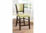 "Dining 1036 25"" Counter Stool in Green - Set of 2 - 103689GRN"