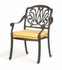 Dining Arm Chair and Cushion (Set of 4) - Florence - Caluco - C777-1-SET