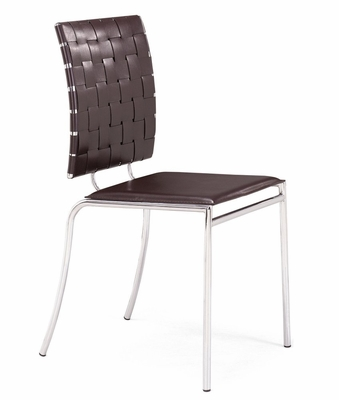 Dining Chair - Criss Cross Chair (Set of 4) - Zuo Modern - 333010
