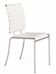 Dining Chair - Criss Cross Chair (Set of 4) - Zuo Modern - 333011
