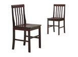 Dining Chair (Set of 2) in Espresso - CHWN2ES