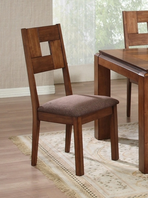 Dining Chair (Set of 2) in Light Natural - Coaster - 102192-SET
