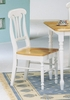 Dining Chair (Set of 2) in Natural / White - Coaster