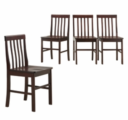 Dining Chair (Set of 4) in Espresso - CHWN4ES