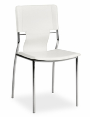 Dining Chair - Trafico Side Chair (Set of 4) - Zuo Modern - 404132